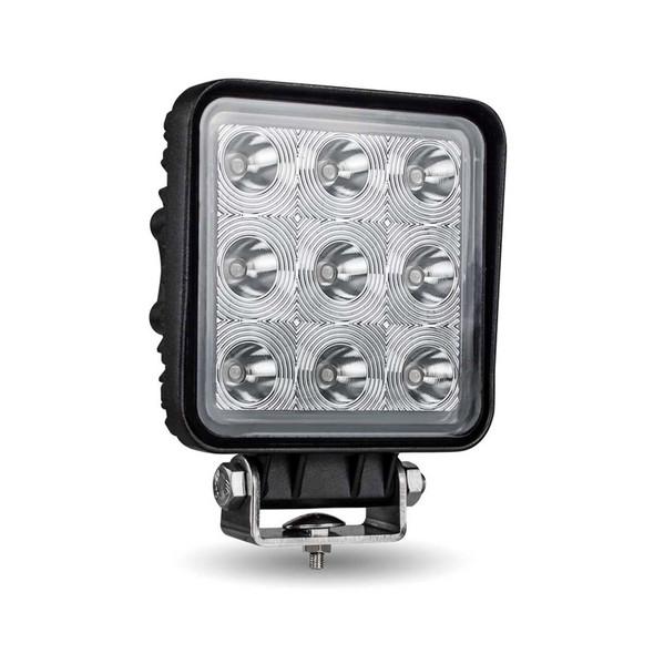 "4"" Square High Powered Stellar Series LED Work Light With Spot Beam"