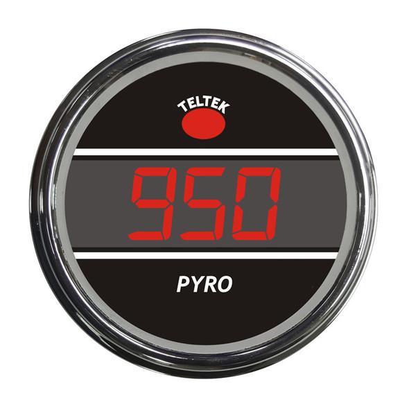 Truck Pyrometer Smart Teltek Gauge Red