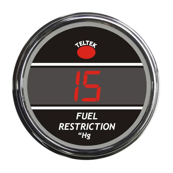 Truck Fuel Restriction Smart Teltek Gauge Red