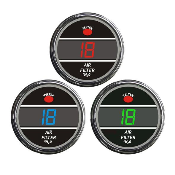 Truck Air Filter Monitor Smart Teltek Gauge