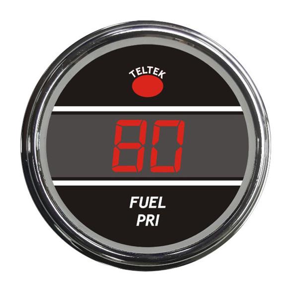 Truck Fuel Level Primary Smart Teltek Gauge Red