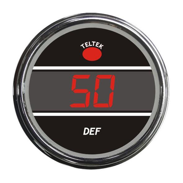 Truck Diesel Emission Fluid Level Smart Teltek Gauge Red