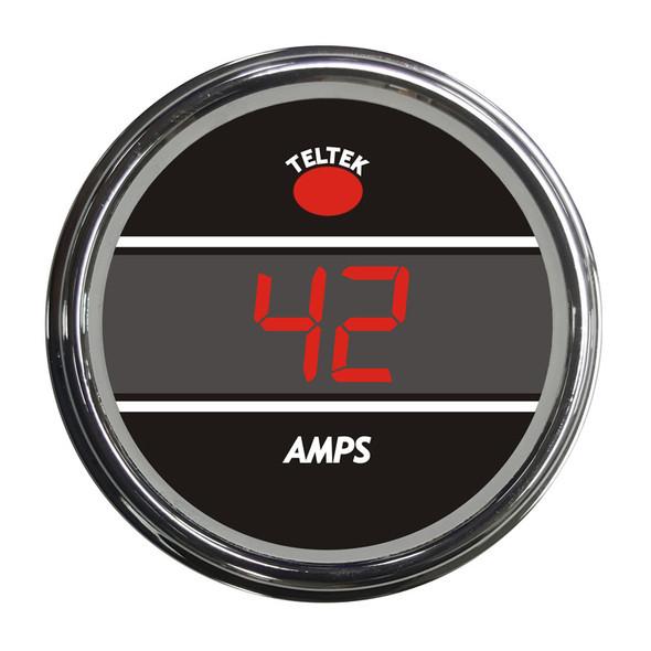 Truck Amp Meter Smart Teltek Gauge Red