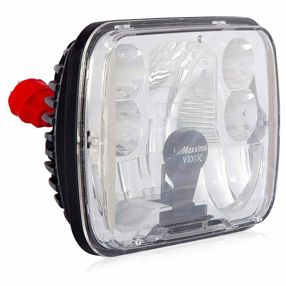 "5"" X 7"" Vionic LED High Low Beam Headlight Maxx Heat Lens By Maxxima"