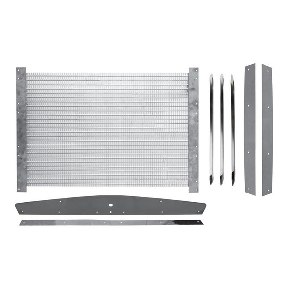 Kenworth T800 W900 Stainless Steel Grill Assembly
