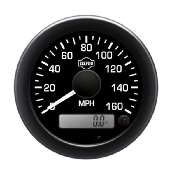 "Semi Truck 3 3/8"" Electric Speedometer Kit - Default"