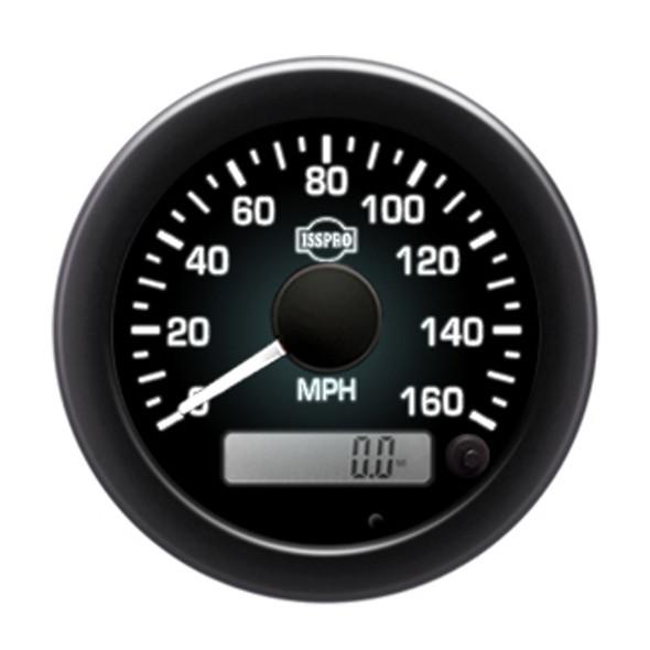 "Semi Truck 3 3/8"" Electric Speedometer Kit - Backlight"