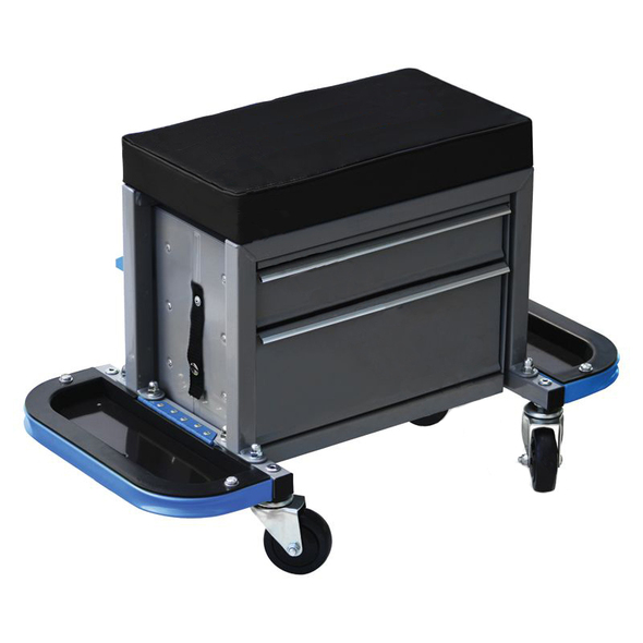 Rolling Creeper Tool Cabinet Seat