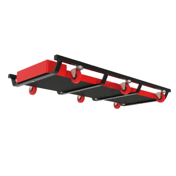 """36"""" Low Profile Rolling Creeper Frame (Angled View)"""