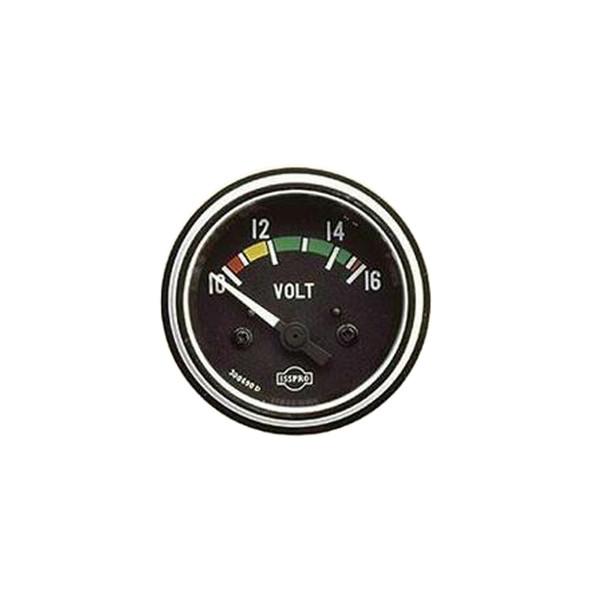 Semi Truck Voltmeter Gauge By ISSPRO