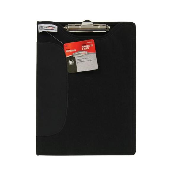 RoadPro 9x12 Black Clipboard