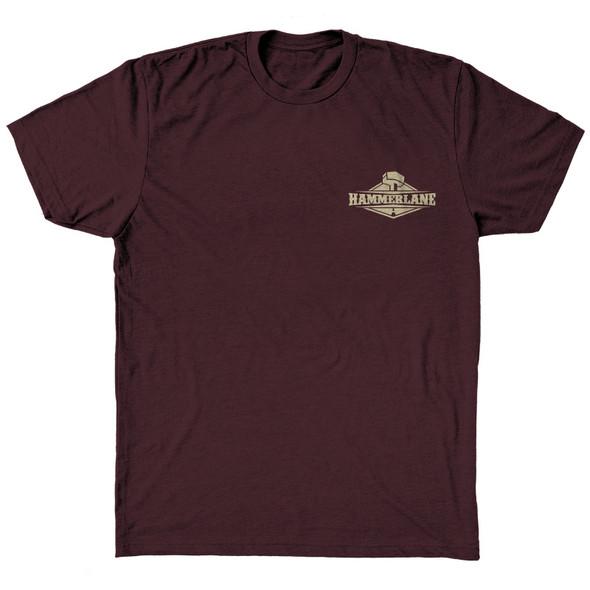 Long Nose Hammer Lane T-Shirt Front