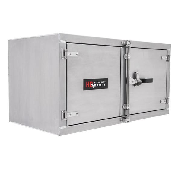 "Aluminum Cam Lock 48"" Tool Box - Quality Made Tool Box Cabinet 24"" x 24"""