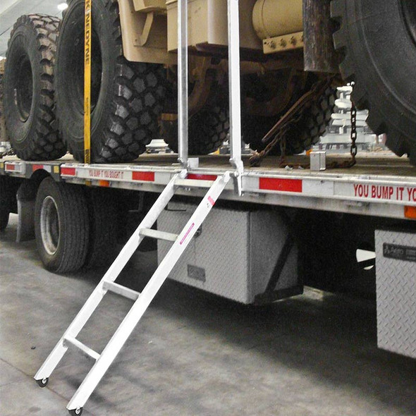 Aluminum Trailer Ladder By Heavy Duty Ramps - Proven Quality