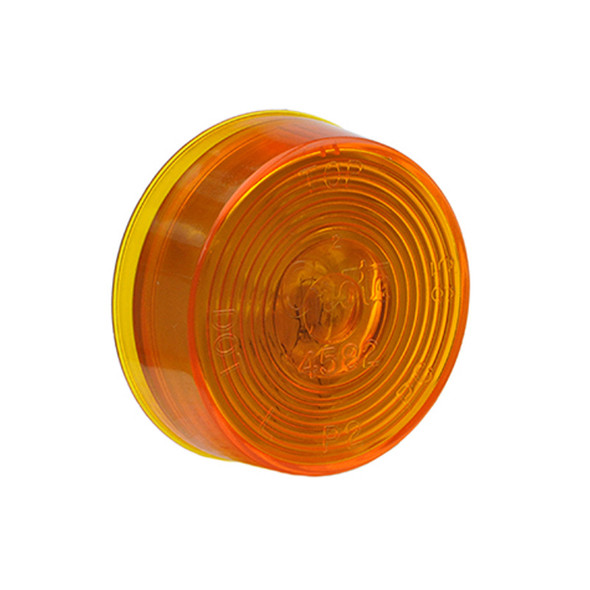 """2"""" Round Clearance Marker Light By Grote - Amber"""