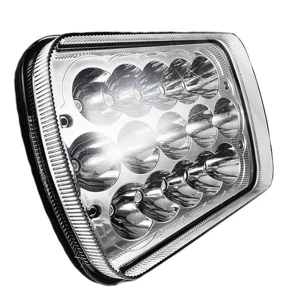 5''x 7'' Rectangular LED High & Low Beam Headlight - Showcase