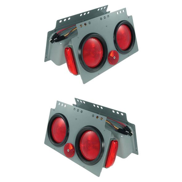 "Grote 4"" STT Light Power Module With Side Marker Light - Default"