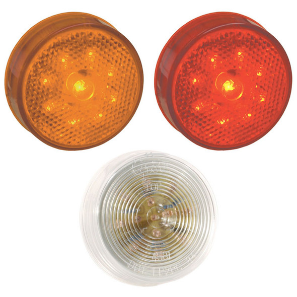 """Grote 2 1/2"""" Round Clearance Marker Light"""