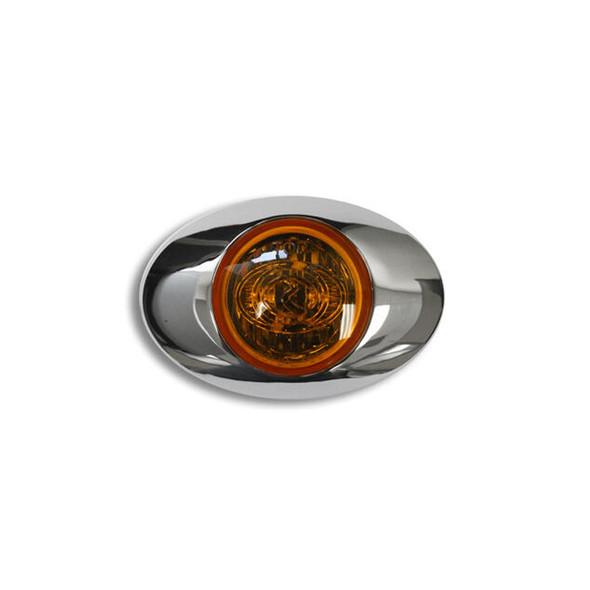 Hero H3 LED Light By RoadWorks - Amber Lens