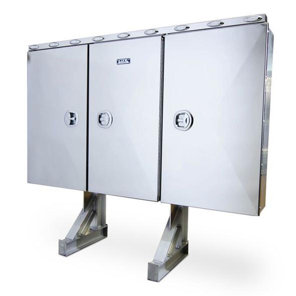 Stainless Steel Door Enclosed Headache Rack - Default