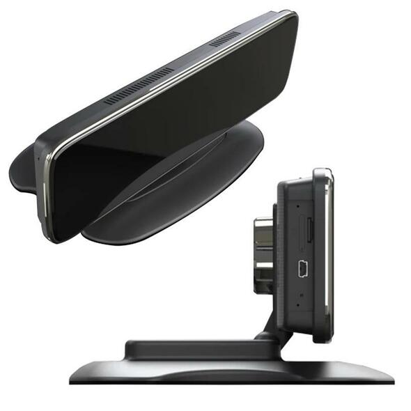Universal Heavy Duty Live Stream DVR Dash Cam With 4G Wifi GPS - Monitor Side