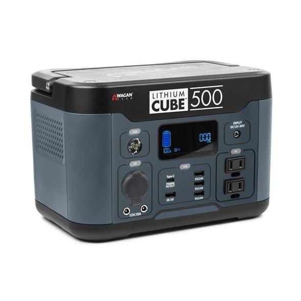 Lithium Cube 500 Watt Power Inverter By Wagan Tech - Side