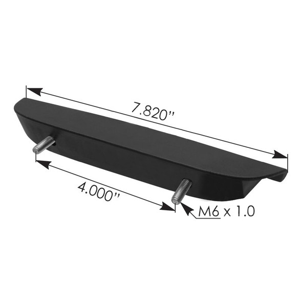 Freightliner M2 Front Hood Handle A17-19010-000 - Dimensions