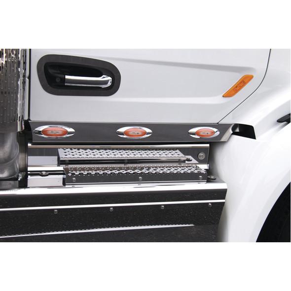 """Peterbilt 567 579 3"""" Cab Panels With M5 LEDs By RoadWorks - Default"""