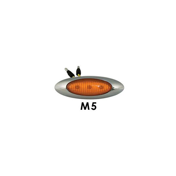 "Peterbilt 567 579 3"" Cab Panels With M5 LEDs By RoadWorks - M5 Lights"