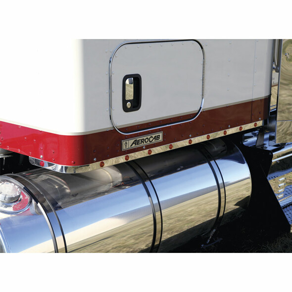 """Kenworth W900 T800 62"""" Sleeper Panels 2011 And Newer With M5 LEDs By RoadWorks - Default"""