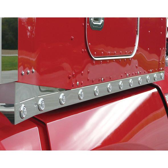 "Kenworth T660 72"" Sleeper Panels With Bulls Eye LEDs By RoadWorks - Default"