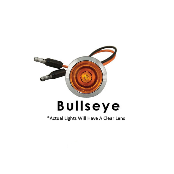 "Kenworth T660 72"" Sleeper Panels With Bulls Eye LEDs By RoadWorks - Bullseye LED"