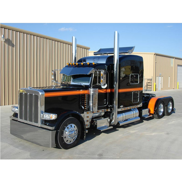 Peterbilt Turbo Wing for High Roof Stand Up Mounted