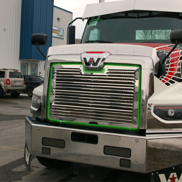 Western Star 49X Short Hood Front Grill