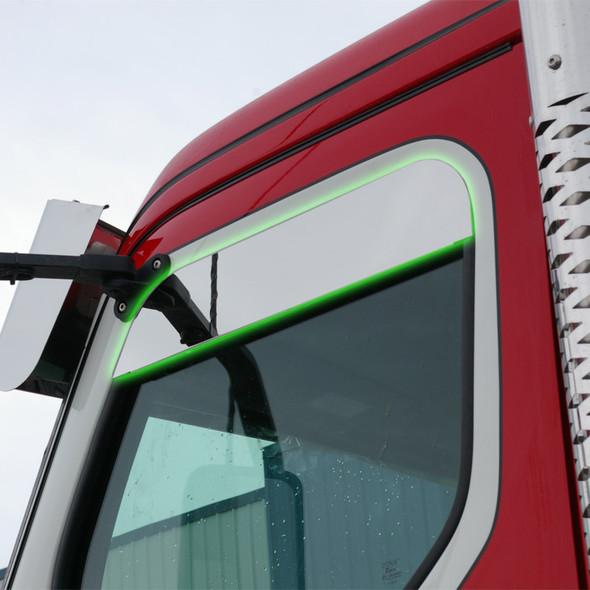 Western Star 49X Stainless Steel Chop Top Window Trim