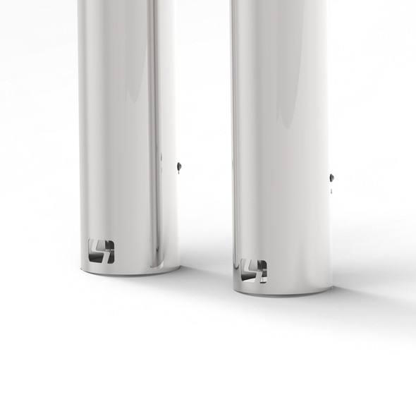 Exhaust Shield 304 Stainless Steel Kit Bottom View
