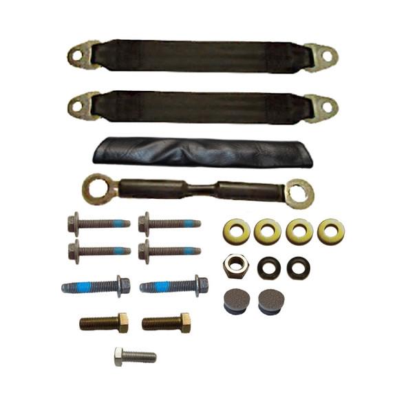 Bostrom Retro Fit Peterbilt Kenworth Seat Adapter Kit - Default