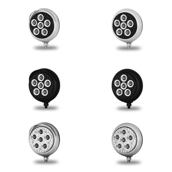 "5"" Round Spot Beam Legacy Series LED Work Light - All Types"
