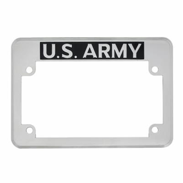 Motorcycle US Army License Plate Frame
