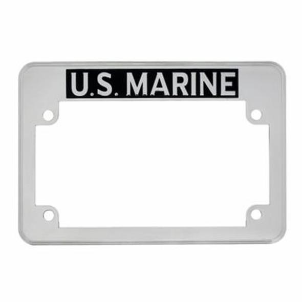 Motorcycle U.S. Marine License Plate Frame