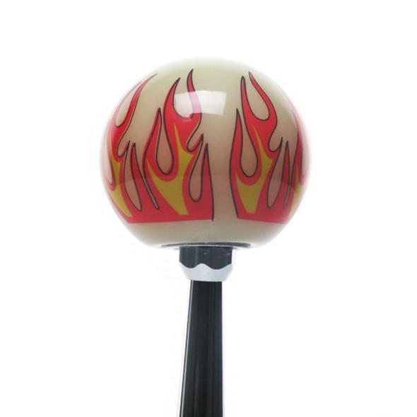 Ivory Flame Shift Knob Kit - Default