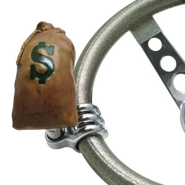 Sack-O-Cash Money Bag Universal Steering Wheel Spinner - Default