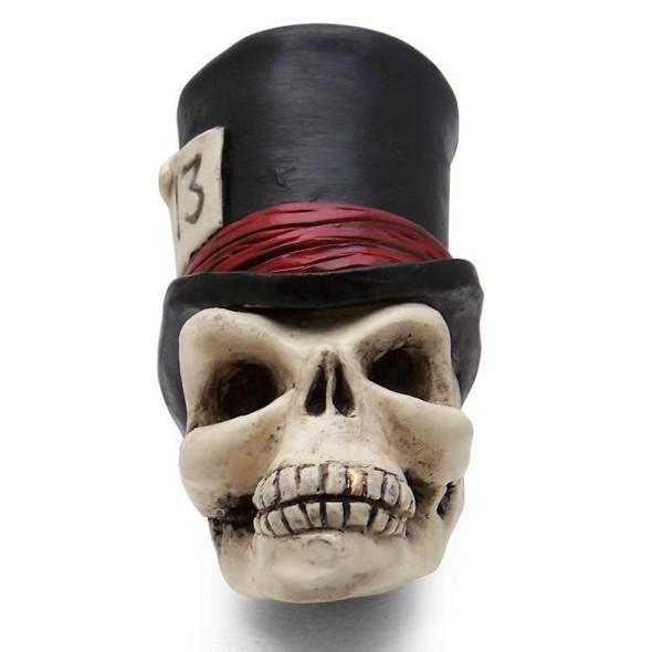 Timmy the Top Hat Skull Universal Steering Wheel Spinner - Knob