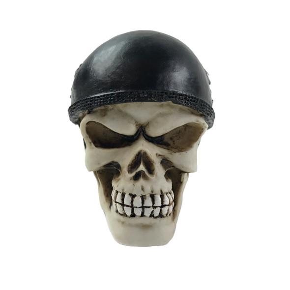 Biker Skull Universal Steering Wheel Spinner - Knob