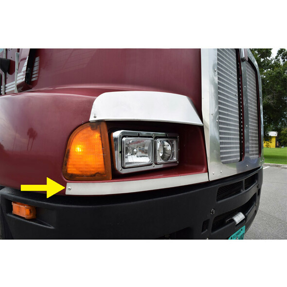 Kenworth T600 Below Headlight Guard Side