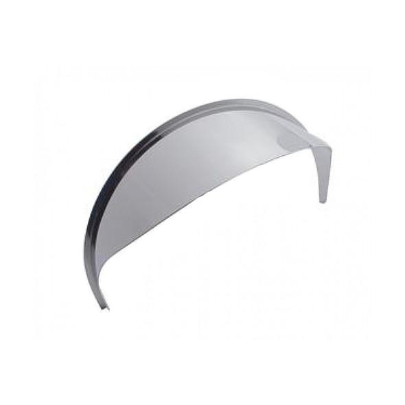 "5 3/4"" To 7"" Round Stainless Steel Headlight Visor"
