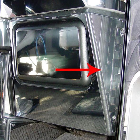 Freightliner Classic FLD Heater Side Trim By Roadworks