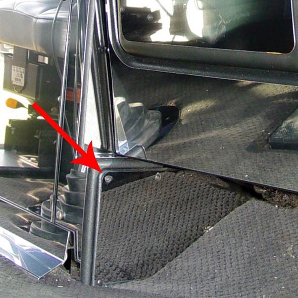 Freightliner Classic FLD Passenger's Side Lower Left Kick Panel Trim By Roadworks