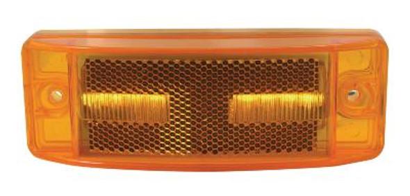Reflectorized Trailer LED Clearance Marker Light Amber