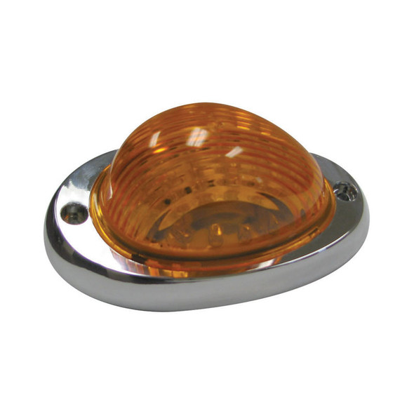Freightliner Sleeper Amber LED Bubble Light With Amber Lens